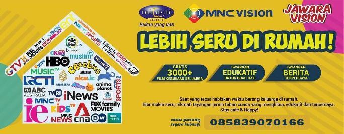 MNC SKY Vision Cabang Indovision Palembang